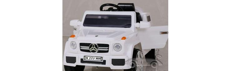 Детский электромобиль-джип Mercedes G