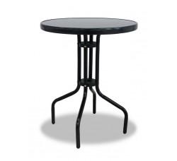 Алюминиевый стол SCONTO черный