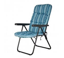 Кресло садовое складное 5 позиций