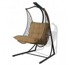 Подвесное кресло со стойкой