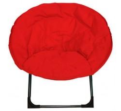 Кресло складное  красное