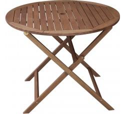 Стол складной деревянный 90х72