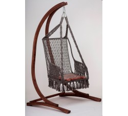Подвесное кресло ИНКА с каркасом CORSA + подушка и балдахин в подарок!