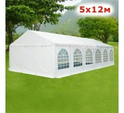 Шатeр павильон Giza Garden 5x12м белый