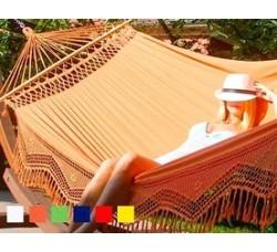 Гамак двухместный TULIP (Бразилия) цвет оранжевый