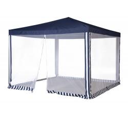 Садовый тент шатер с москитной сеткой (Green Glade 1033) 3х3м