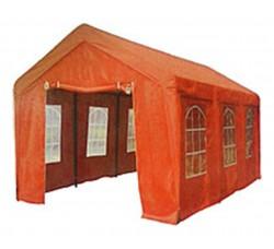 Шатер павильон 3х6 оранжевый со стенками