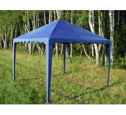 Садовый Тент 2,5х2,5м усиленный каркас, без стенок, синий
