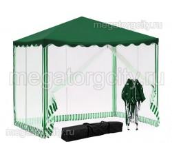Быстросборный шатер автомат (Green Glade 3001) 3х3м с 4 сетками