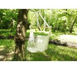 Кресло гамак из льна с поролоновыми вставками