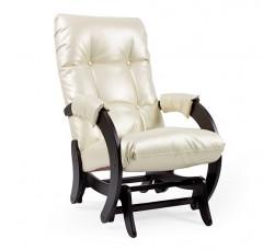 Кресло-качалка гляйдер,  модель 68 экокожа
