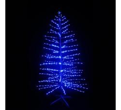 """LED-""""Ель синяя"""", высота 180см, 600 светодиодов"""