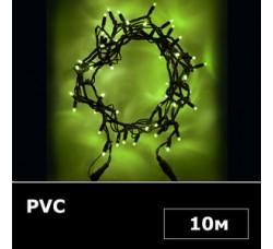 Электрогирлянда String light 10м зеленый