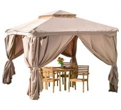 Комплект плотных штор, для шатра 3х3м,  бежевые