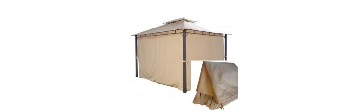 Комплект плотных штор для шатра 210Д 3х3м бежевый