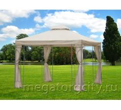 Беседка тент-шатер со шторками Garden Day 3х3
