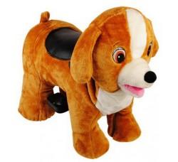 Зоомобиль Joy Automatic Собачка Тоби с монетоприемником