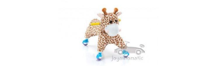 Зоомобиль-каталка Joy Automatic Жираф