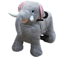 Зоомобиль Joy Automatic Слон с монетоприемником