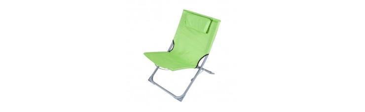 Стул пляжный зелёный, 400x610x400 мм