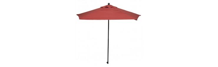 Зонт дачный 2.7 м тёмно-красный