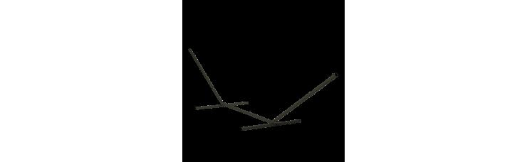 Универсальная стойка для гамаков из металла MHS-02 black