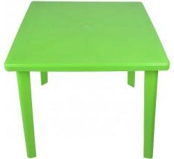 Стол пластиковый квадратный салатовый