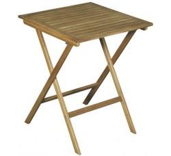 Стол складной из акации, 60х60х75 см
