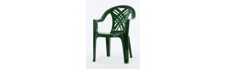 Кресло №6 темно-зеленое