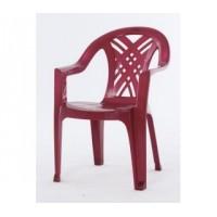 Кресло №6 вишневое