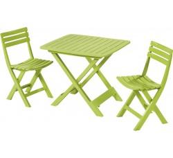 Комплект мебели складной, 3 предмета