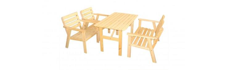 Комплект мебели, сосна, 4 предмета