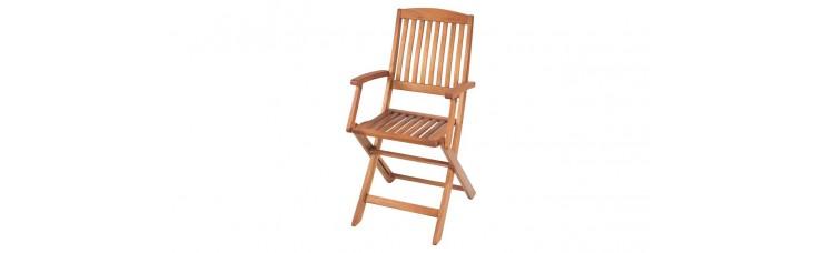 Кресло складное, эвкалипт