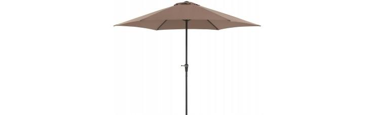 Зонт садовый мокко, 300х245 см