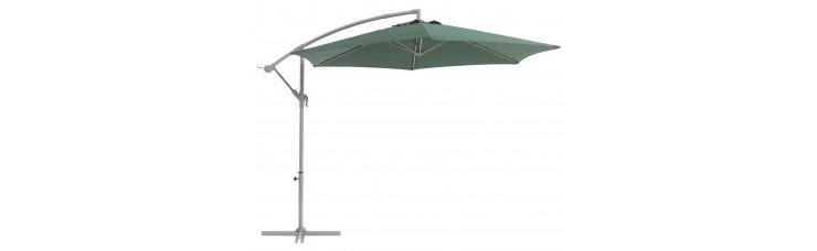 Зонт садовый зеленый