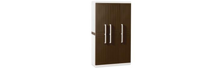 Шкаф WOOD LINE S, 3-х дверный с 4 полками