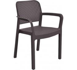 Плетеное пластиковое кресло Samanna