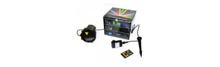 Уличная лазерная подсветка X-30P Зел + Кра+Анимация