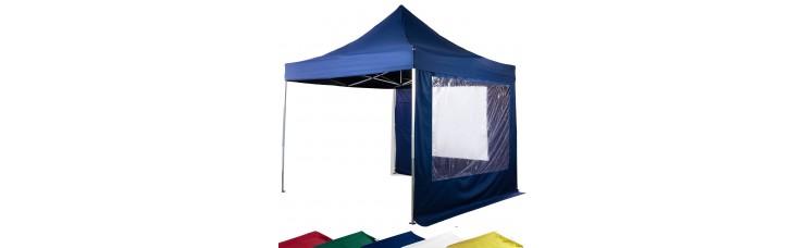Стенка для шатра с окном 2х2 м. 5 цветов