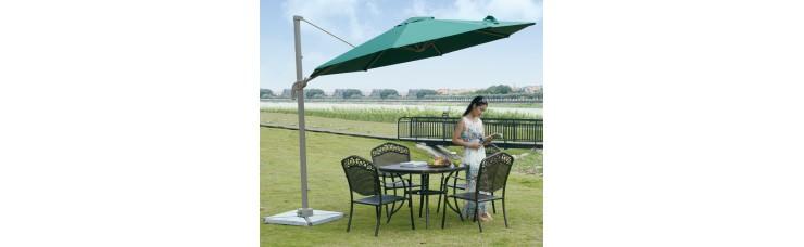 Садовый зонт GardenWay А002-3000 зеленый