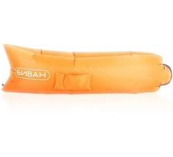 Диван надувной, оранжевый, 200х90 см