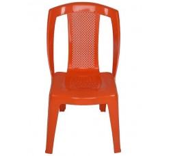 Стул пластиковый  оранжевый