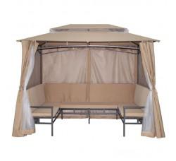 Беседка павильон с диванами Неаполь