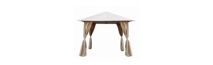 Комплект плотных штор для шатра 3х3/2,7х2,7м цвет бежевый