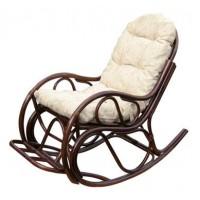 Кресло-качалка с подножкой (Браун)