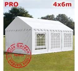Шатер Giza Garden 4 x6 белый PRO