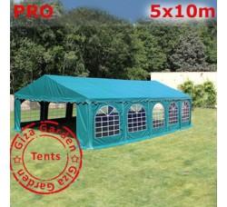 Шатер Giza Garden 5x10м зеленый PRO (ПРО)
