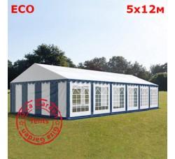 Шатер Giza Garden 5x12м бело-синий ЭКО