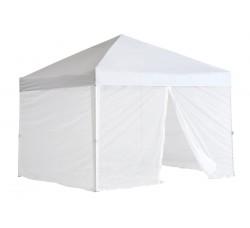 Быстросборный шатер автомат Люкс 3х3 белый, 4 москитные сетки