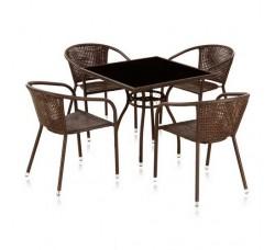 Набор мебели (иск. ротанг) Milton-2 (4+1 (T-251А Y-137B))